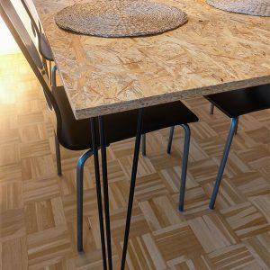 OSB-pöytä